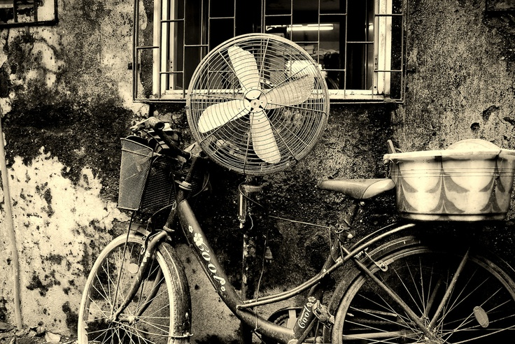Who said a bicycle can't be cool?