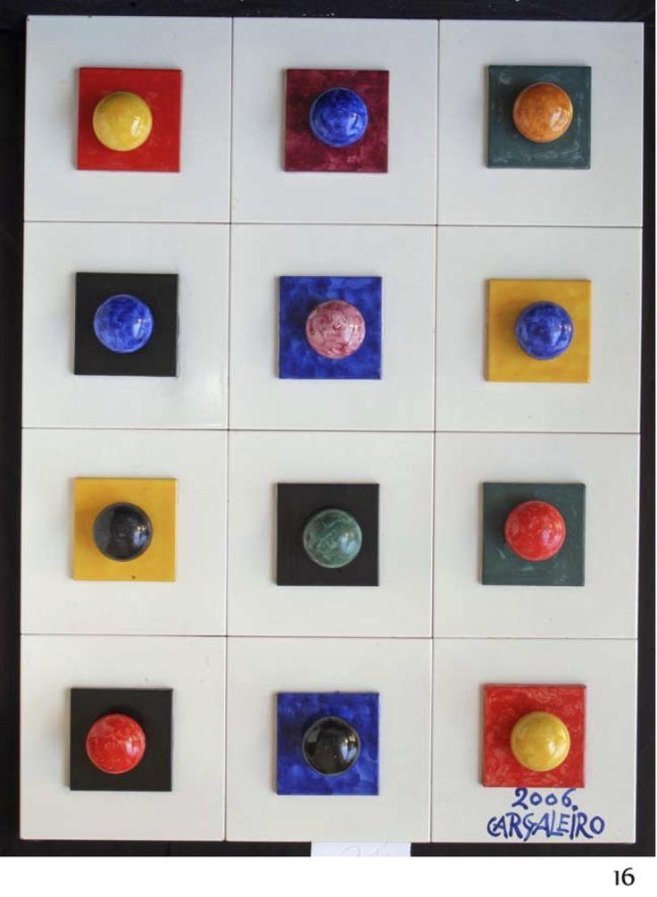 Manuel Cargaleiro | Painel de azulejos / tiled panel | 2006 | Fondazione Cargaleiro #Azulejo #ManuelCargaleiro