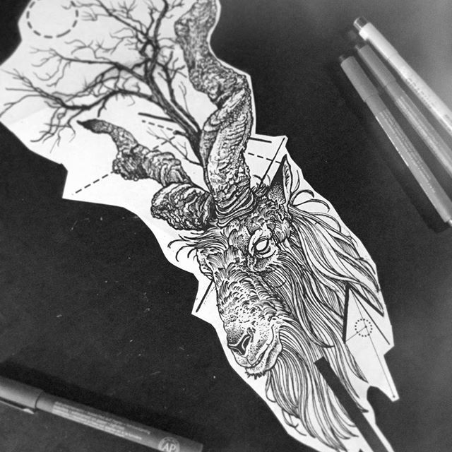 #darkworkers #btattooing  #dotwork #dotworktattoo #dotworkers  #blackink #blxckink #blacktattoo #trees #blacktattooart #blacktattooing #blackworkers #iblackwork #blackworkershero #treetattoo #tattoo #gwometrytattoo #tattooart #tree #onlyblackart #inklife #inkstinctsubmission  #equilattera  #sketchoftheday #sketch #tattooidea #tattoodesign #tattoosketch #ram