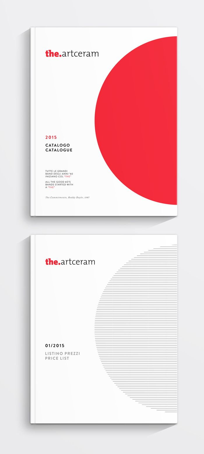 Art Direction e progettazione del Catalogo 2015 per The.Artceram. Art Direction and design of the The.Artceram Catalogue 2015