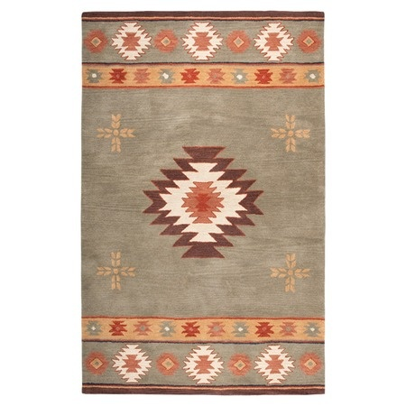 $1300 I pinned this Pinal 10' x 14' Rug in Green from the Sedona Retreat event at Joss and Main!