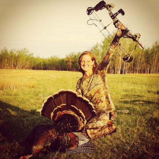 Heidi's Bow Turkey Hunt 2015