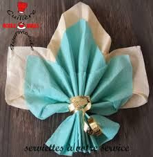 18 best images about pliage serviette on pinterest shopping search and photos - Pliage serviette feuille 2 couleurs ...