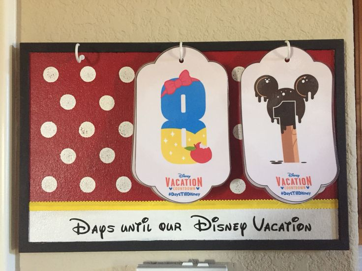 My version of the free Disney countdown calendar available at http://disneyparks.disney.go.com/blog/2014/12/diy-create-your-own-walt-disney-world-vacation-countdown/