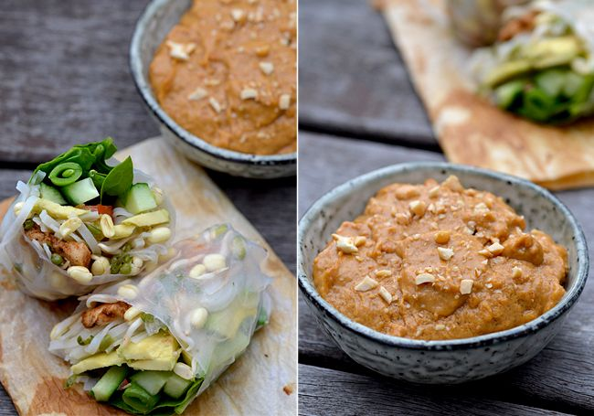 twin-food.dk friske-foraarsruller-med-peanutbutter-sauce