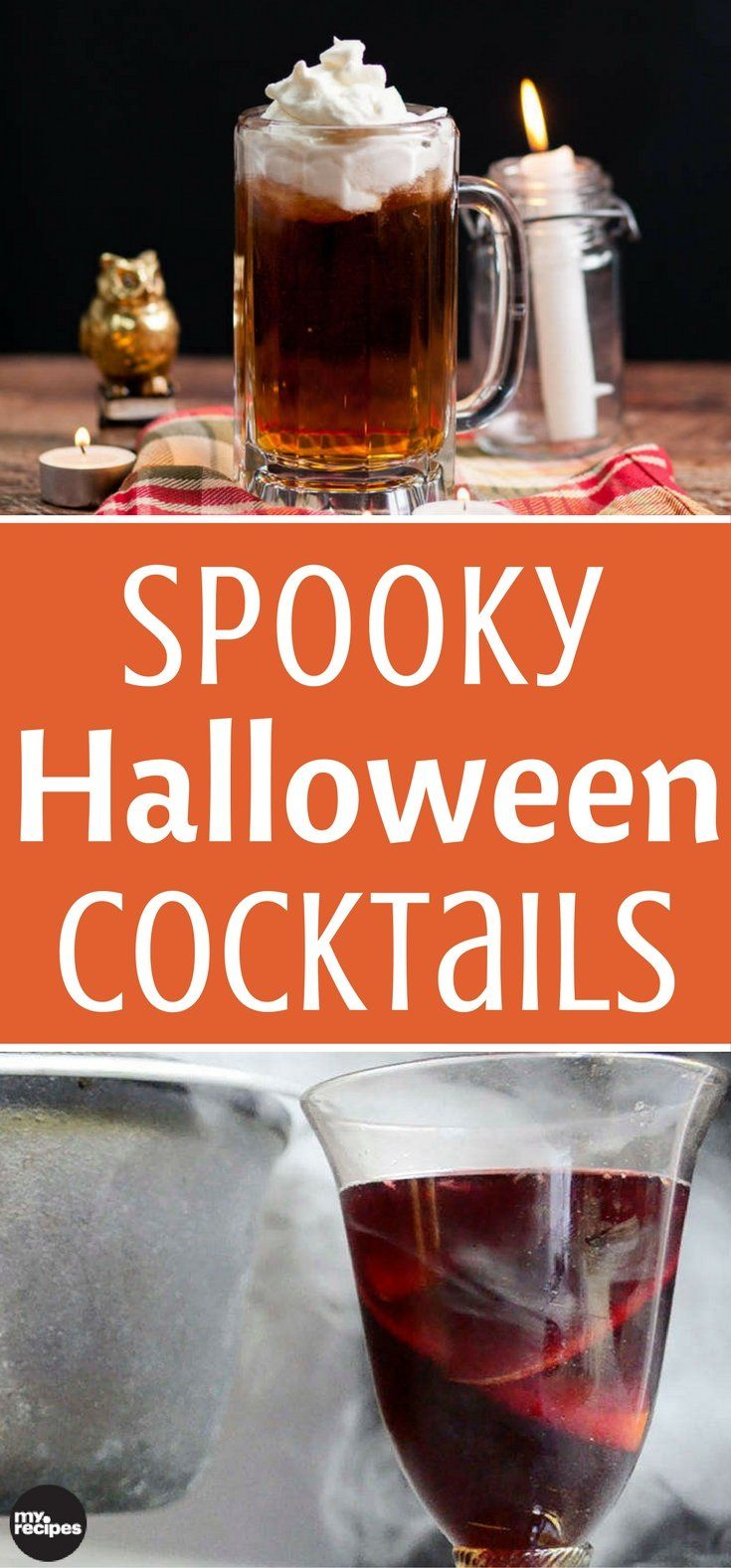 bottoms up for delicious fun and frightfully good halloween cocktails having a signature - Best Halloween Dessert Recipes