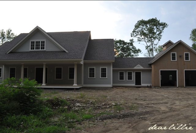 Best 25 attached garage ideas on pinterest for House with attached barn plans