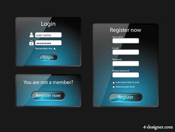 login user interface - Google Search