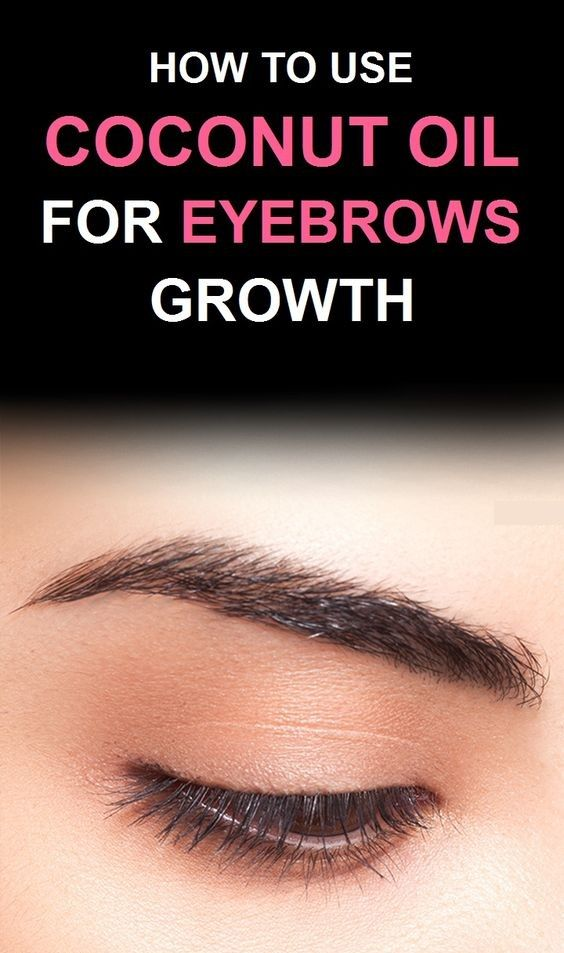 Castor Oil And Coconut Oil For Eyebrows Castor Oil Eyebrows Before