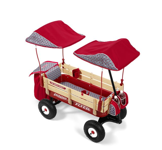 The 8 Best Wagons to Improve Your Child's Motor Skills: Radio Flyer Build-A-Wagon