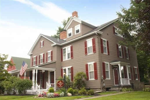 The new look of Harrington House, built in 1860 in historic Milford, PA just steps from shops, restaurants and historic attractions.