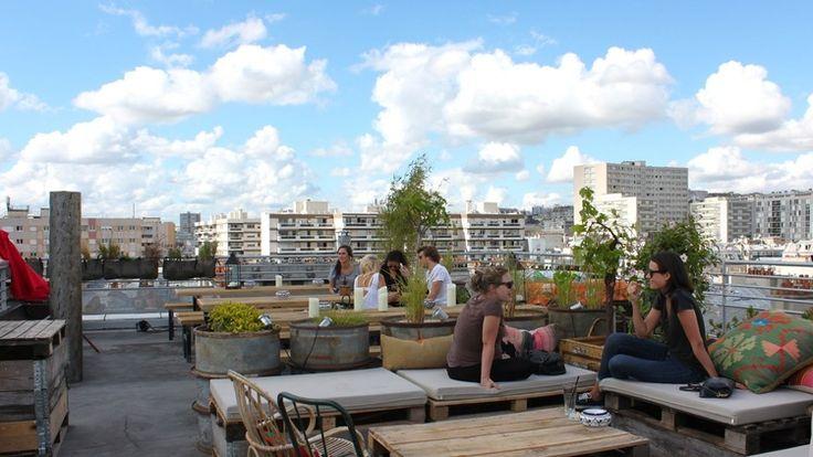 Bar le Perchoir Paris - rooftop bar