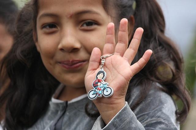 Klíčenka cyklisty - nechte si poslat domů