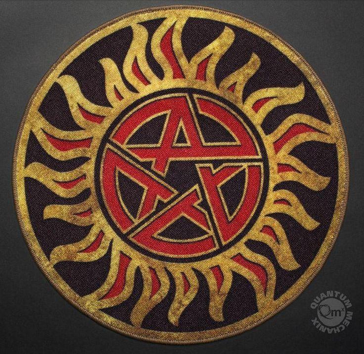 Collectables - Supernatural Anti-Possession Symbol Doormat