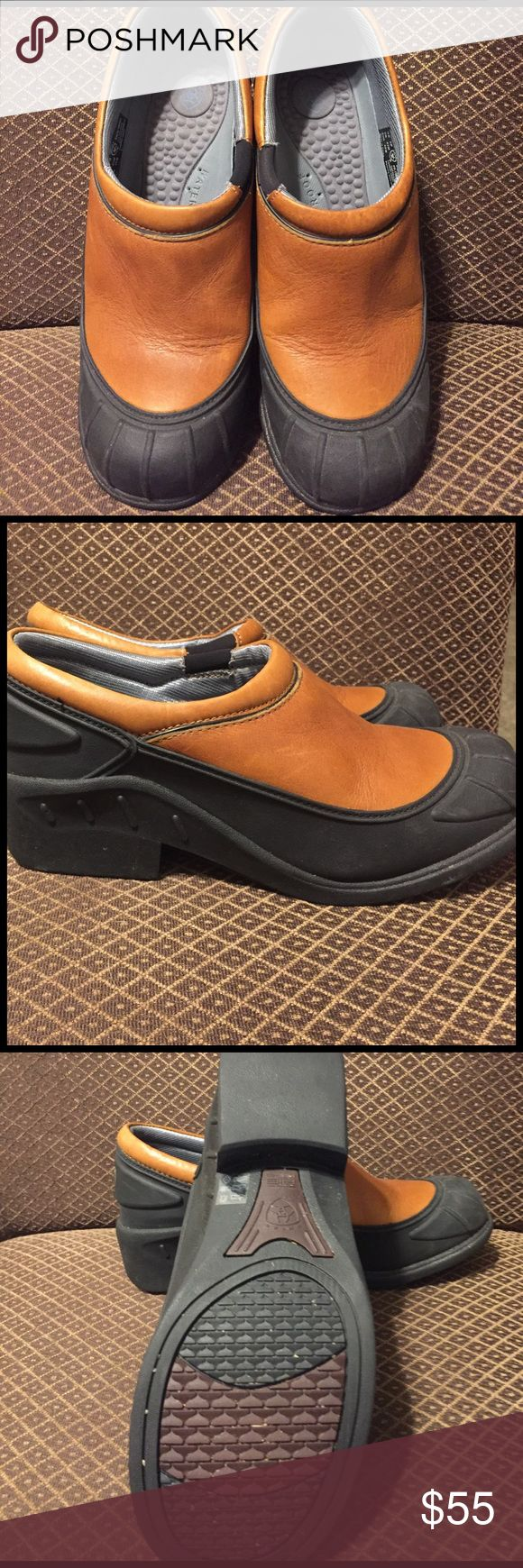 Arian Frog Clog Waterproof Shoe - Size 9 /like new Great waterproof shoes. only worn once.  Hard to Find!! Ariat Shoes Mules & Clogs