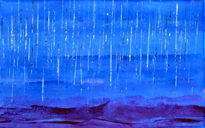 Wet Season synthetic polymer paint on canvas 60 x 40 cm $1,800