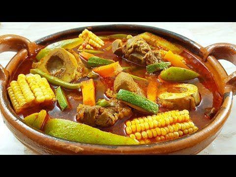 Mole de Olla (Caldo de res) Comida Mexicana - Mi Cocina Rápida ft Super Amas de Casa - YouTube