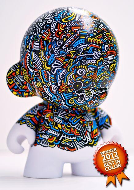 Hand Painted Vinyl Toy by The Graphix Chick✖️FOSTERGINGER AT PINTEREST ✖️ 感謝 / 谢谢 / Teşekkürler / благодаря / BEDANKT / VIELEN DANK / GRACIAS / THANKS : TO MY 10,000 FOLLOWERS✖️