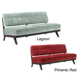 @Overstock   A Stylish Euro Modern Retro Design Highlights This Pimento Red  Chenille Or