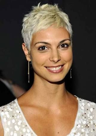 hair styles for wide faces 28 best platinum pixie images on hair cut 7235