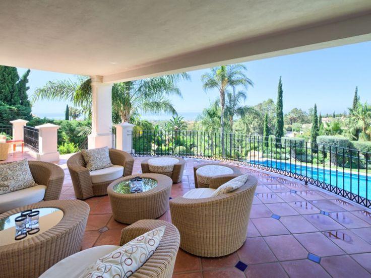 Villa mit 7 Schlafzimmern und 8 Badezimmern zu verkaufen, Objekt Nr. 1165, Marbella Goldene Meile, Costa del Sol, Spanien.