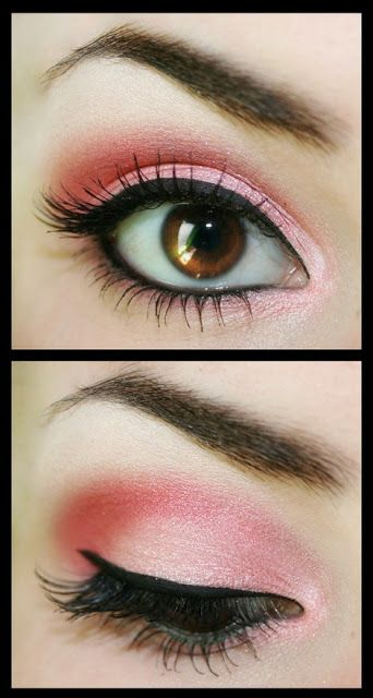 I do love #pink #eyeshadow . I think it's great for both day and night wear.