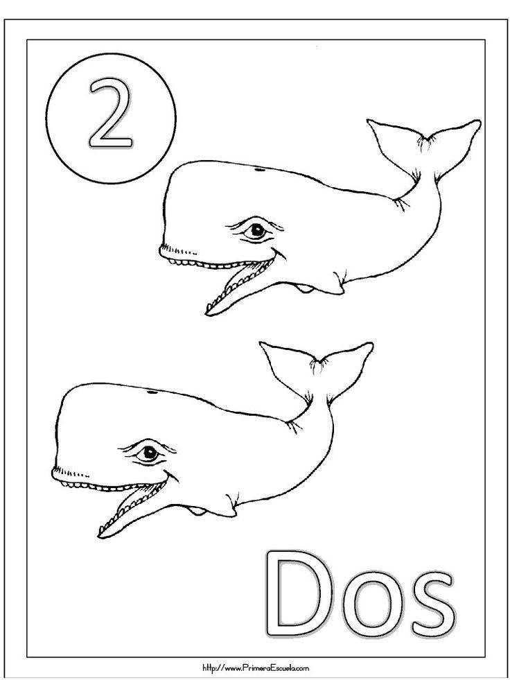 Fichas Y Numeros Del 1 Al 20 Para Repasar Y Colorear Numeros Preescolar Fichas Dibujos Para Pintar Faciles