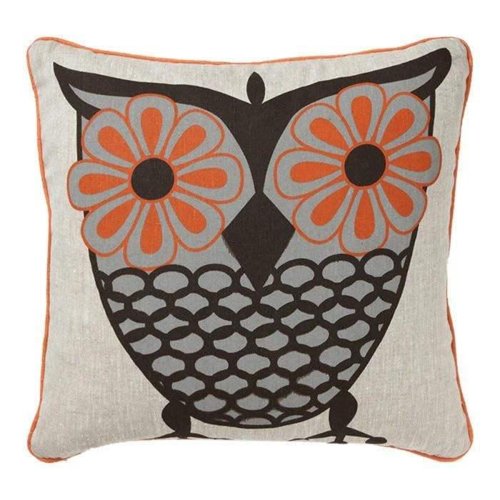 How To Make Cute Owl Pillows : Owl Pillow Pillow + Fight Pinterest Spirit animal, Too cute and Flower