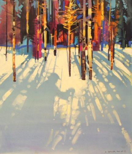 The Artist's Shadow #3 stephen quiller