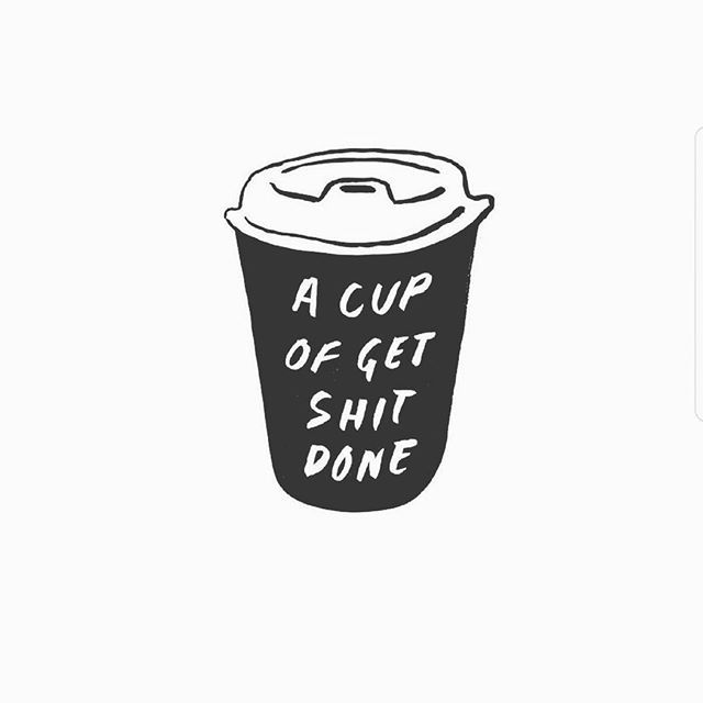 Need a big one of these this morning  No sleep ins today  Lots of orders to pack . . . . #beanhomebody #coffee #inspiration