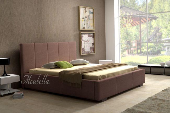 Slaapkamer Ideeen Bruin Bed : ... . http://www.meubella.nl/slaapkamer ...