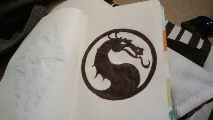 Mortal combat symbol by Ashattack42