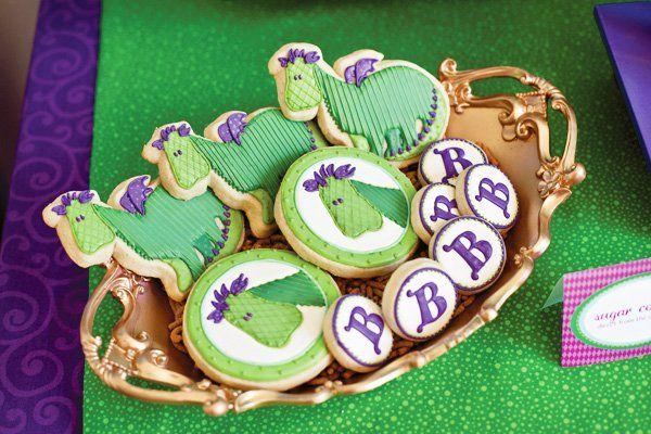 Puff-the-Magic-Dragon-Birthday-Party-Dragon-Cookies