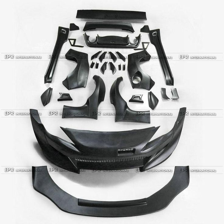 FRP Fiber Glass R B Style Full wide Body Car Styling Accessoris Body Kit Fit For BRZ FT86 GT86 FRS Rocket Bunny Ver 3
