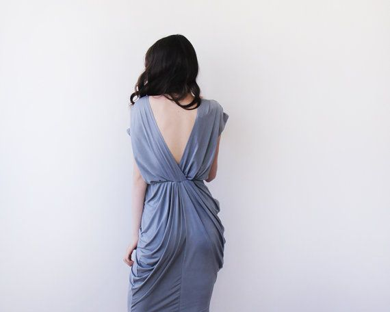 Urban Gray dress,maxi dresses , Gray dress on Etsy, 724.77 ₪