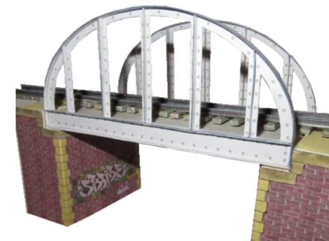 H0 Train Sets for Diorama Free Paper Models Download