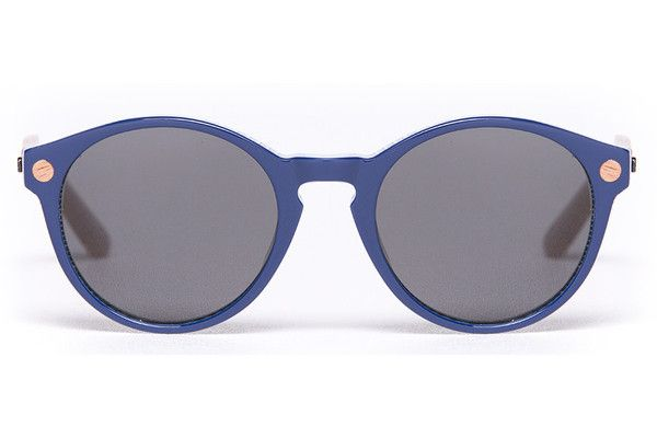 Eco friendly Proof sunglasses - The Hayburn Navy. The Hayburn frame is a round fun frame that looks good on both male or female. The ECO Collection is 100% renewable, biodegradable and hypoallergenic. $169, Proof Eyewear New Zealand.