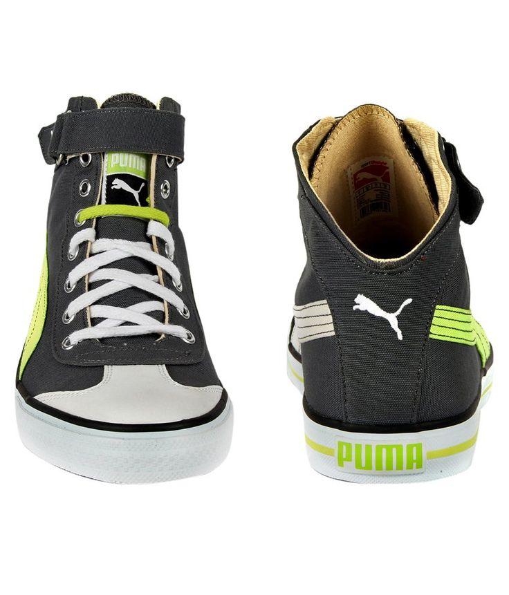 Puma Mens Gray Casual Shoes