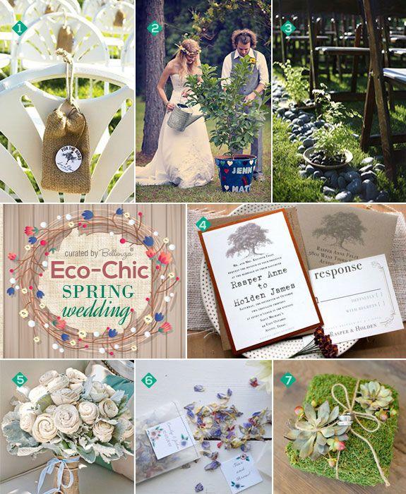 Eco Chic Ideas For A Spring Wedding Ceremony Wedding Ceremony Ideas Chic Wedding And Unity