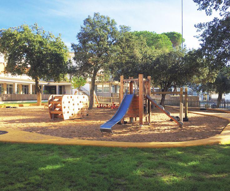 #montesoripalau #girona #parquesinfantiles #juegos #playground #bdu #children