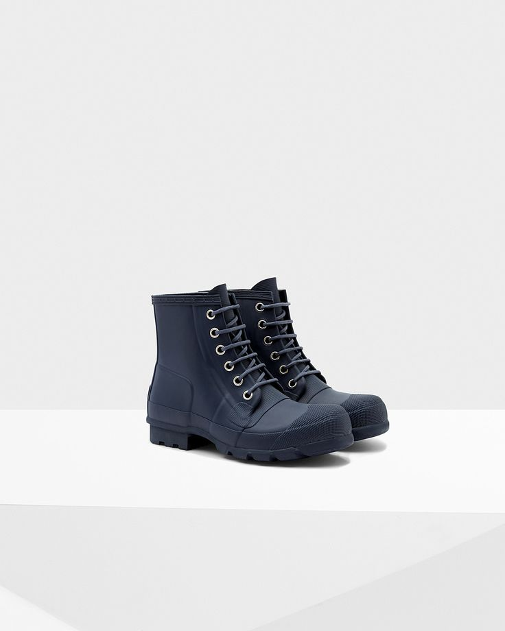 Men's Original Rubber Lace-Up Boots | Official Hunter Boots Site - Men's Rain Boots