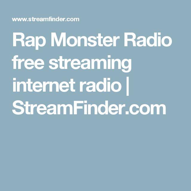 Rap Monster Radio free streaming internet radio | StreamFinder.com