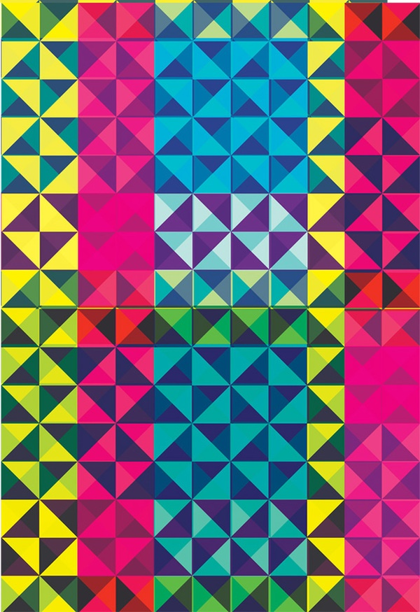 Pattern Inspiration  Geometric Ruskova  Geometric Graphics  PatternBright Colourful Patterns