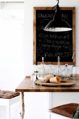 + #kitchen #chalkboard