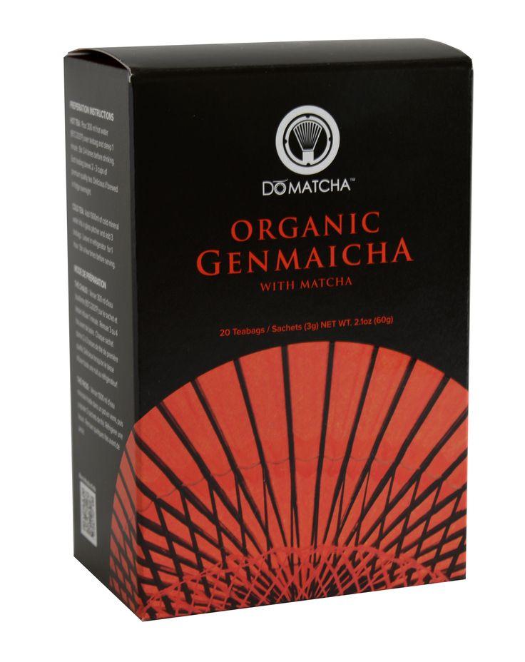 #DoMatcha #Genmaicha #GreenTea #Tea #Organic www.domatcha.com