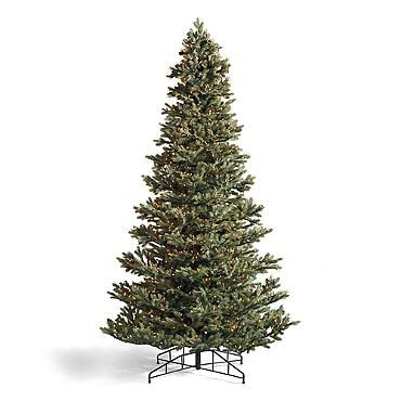 Ashland Fir Slim Artificial Pre Lit Christmas Tree