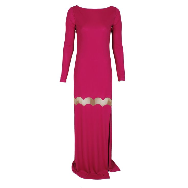 #galliano #johngalliano #marinamall #greenbird #couture #abudhabi #abudhabistyle #abudhabifashion #abudhabistyle #dubai #dubaifashion #dubaistyle #womenswear #fall2013 #winter2014 #fw2014 #prefall #dress #eveningdress #eveninggown #pinkandgold #goldandpink #longdress #longsleeveddress