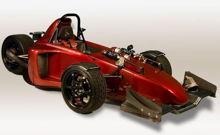 Scorpion Motorsports P6 reverse trike: 600cc Kawasaki power, 60mph in 3 seconds //