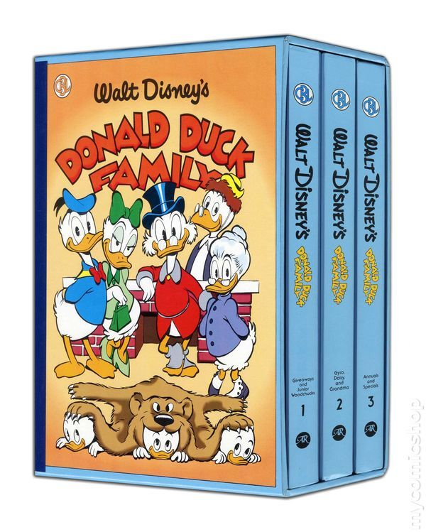 Carl Barks Library HC and Slipcase Collection (1984-1990) SET#06