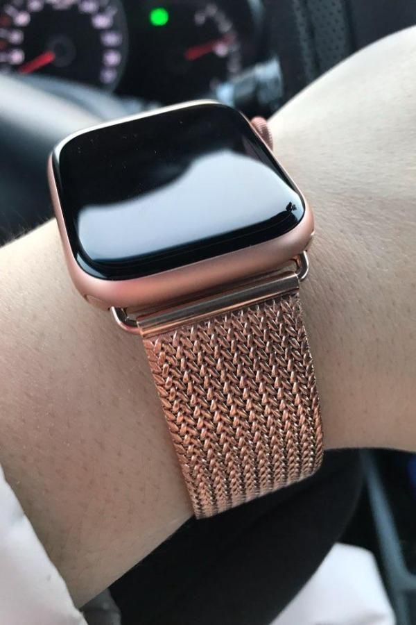 Apple Watch Band 42mm Gold Women